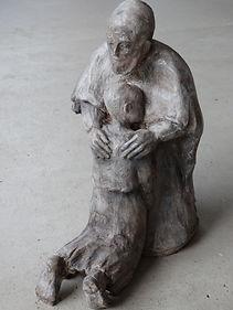 sculture sur commande sur un thème religieux laure duquesne angers