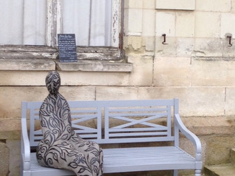 """Dame feuillage"" au château Colbert à Maulévrier"