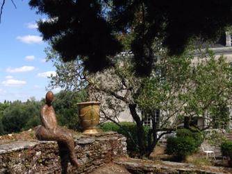 """""""Dame rouille"""" s'installe au couvent de la Baumette à Angers"""