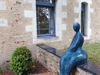 """""""Dame Bleue"""" au Domaine des Baumard à Rochefort sur Loire"""