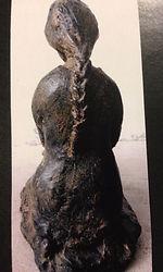 sculpture figurative en résine pâtinée angers laure duquesne