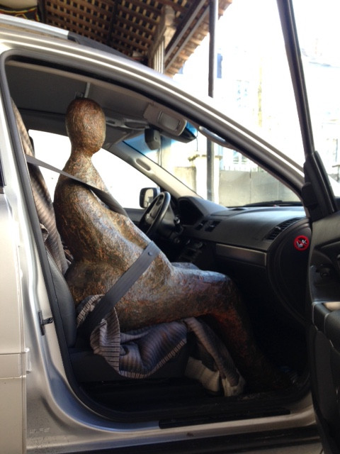 Tout le monde en voiture, en route pour le château de Chambiers !!