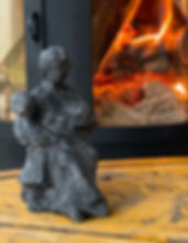 Gabrielle, sculpture, cadeau, angers, laure duquesne