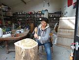 laure duquesne sculpteur angers sculpture entreprises jardin terrasse art