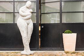 sculpture d'extérieur pour jardin ou terrasse angers laure duquesne