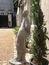 sculpture d'extérieur pour terrasse ou cour angers