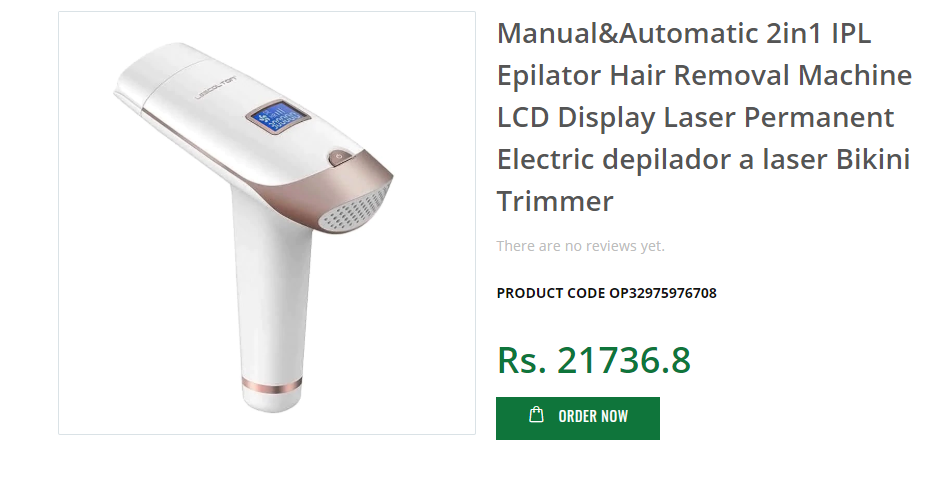 Hair Removal Online Aliexpress Import In Pakistan