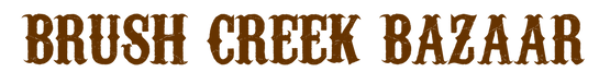 BrushCreek Bazaar Logo (without slogan)