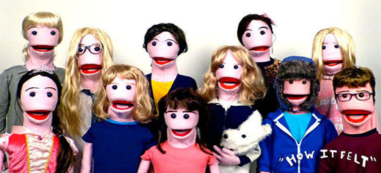 ADHD Puppet family that started it all
