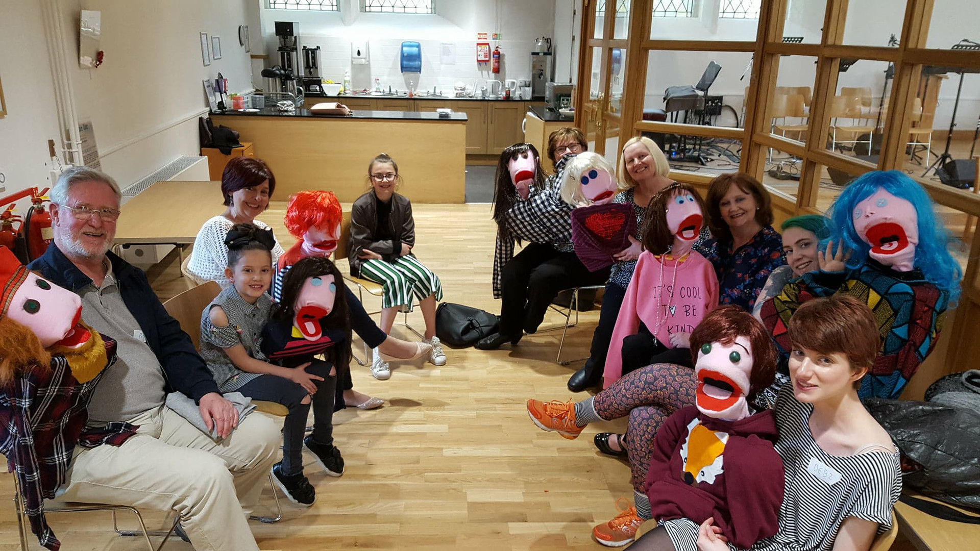 Puppet workshop hosted by Dundee Ministry of Craft