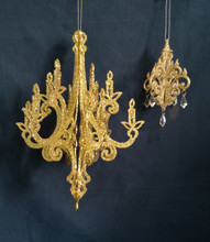 gold vintage chandeliers