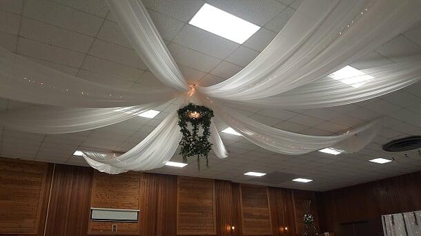 ceiling drapings 25