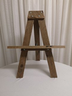 table top rustic easel