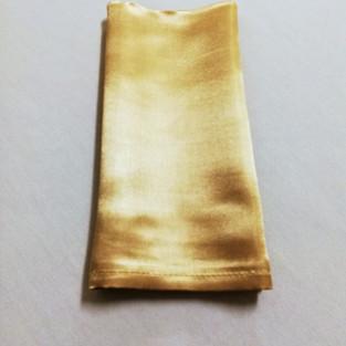 soft gold satin