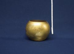 gold vase bowl