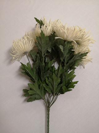 white flower bouquet
