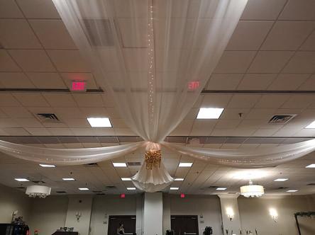 ceiling drapings 12
