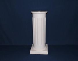 white wooden pillar