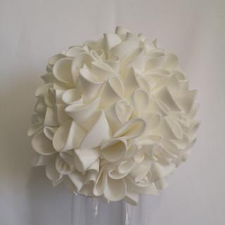 white foam ball