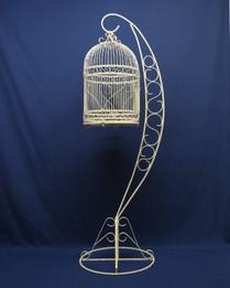 freestanding birdcage
