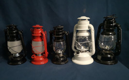 led and flame camping lanterns