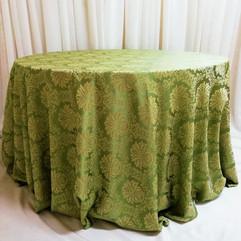 green wellington tablecloth