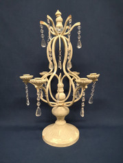 table candelabra with gems