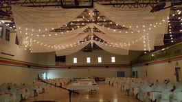 ceiling drapings 23