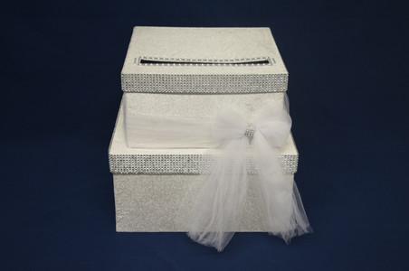 silver bling cardbox