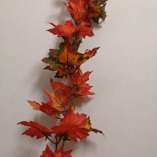 red maple garland