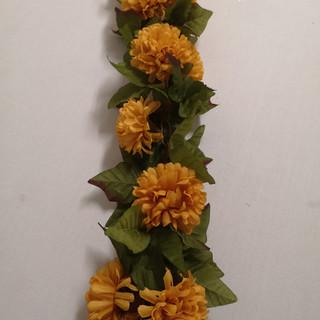 yellow garland
