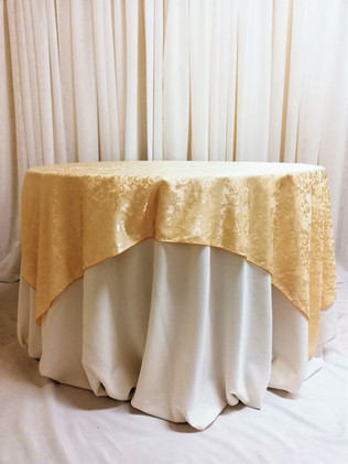 soft gold damask overlay