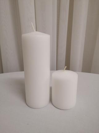 flame pillar candles