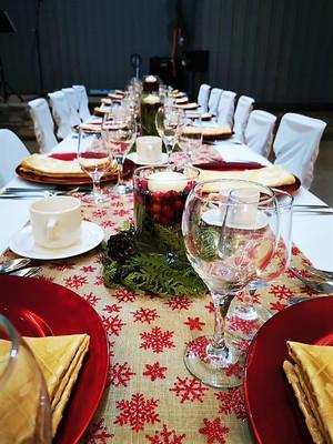 Christmas Party Setup