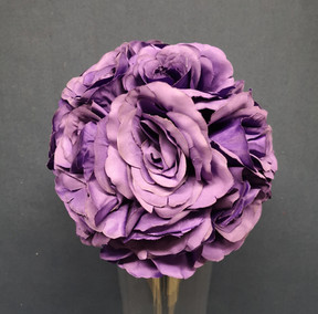 purple rose ball