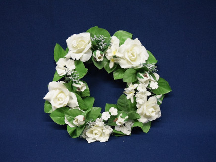 rose flower wreath