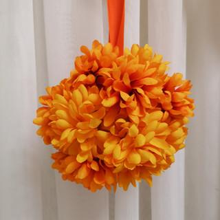 yellow daisy flower ball