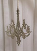 soft gold 3D chandelier