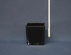 square black vase 5x5
