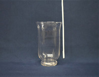 clear pedestal vase 12 inches tall