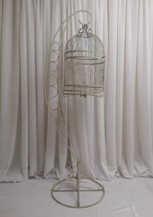 floor standing birdcage