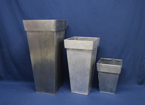 silver planters