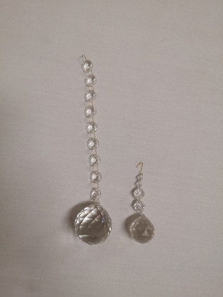 clear pendants