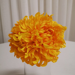 yello flower ball