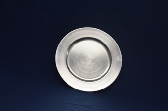 silver charge plate