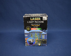 red and green laser machine