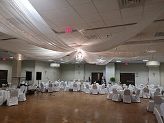 ceiling drapings 14