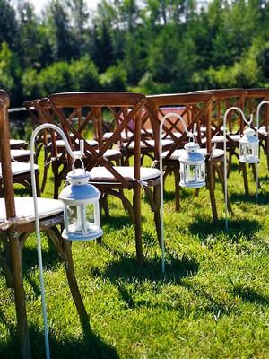 Lakeside Ceremony setup