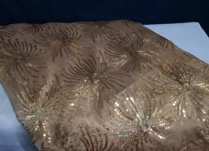 gold starburst linen