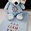 Thumbnail: Nautical Bear and Crib Blanket Set
